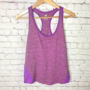 Neon Purple Workout Tank